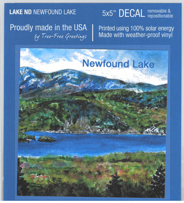 Iconic Newfound Lake Decal
