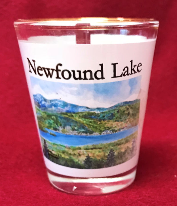 Iconic Newfound Lake Shot Glass