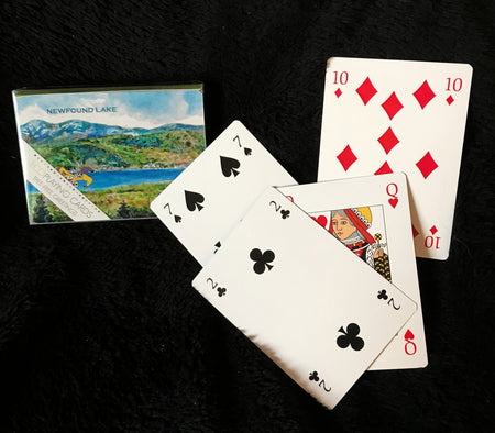 Iconic Newfound Lake Playing Cards