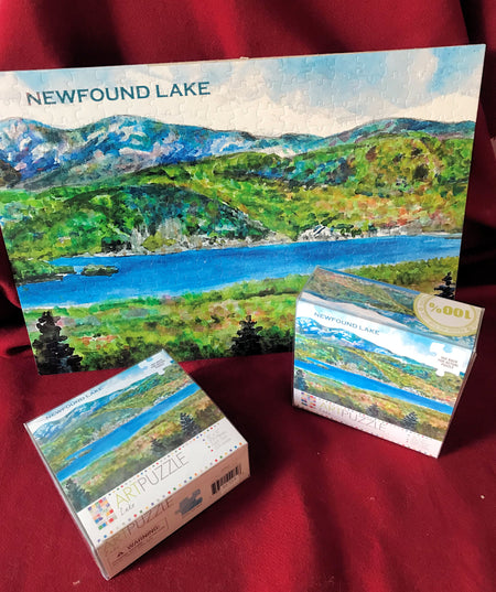 Iconic Newfound Lake Puzzle