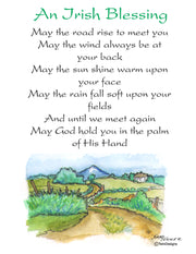Irish Blessing Note Cards