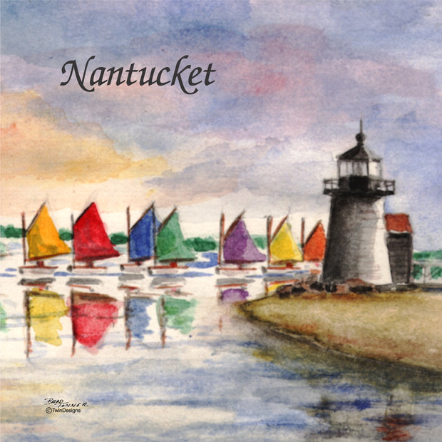 Brant Point Nantucket Trivet