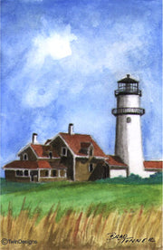 """Cape Cod Lighthouse"" Boxed Note Cards Ori"