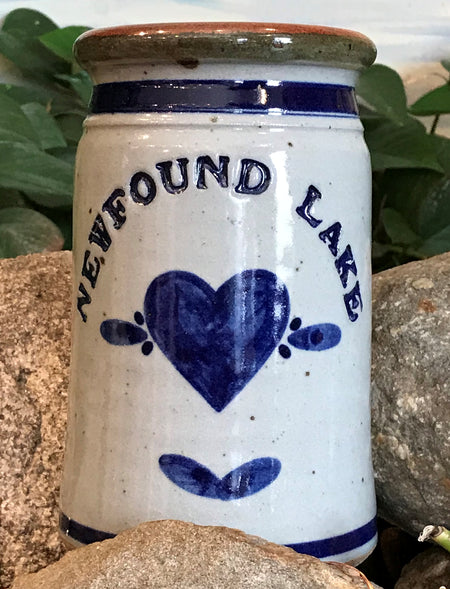 Grandville Hollow Pottery Newfound Lake Large Jar