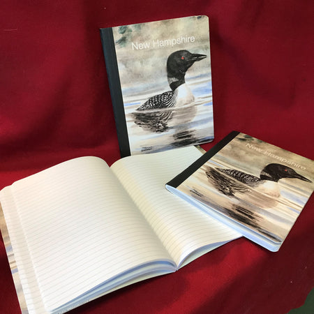 New Hampshire Loon Composition Book