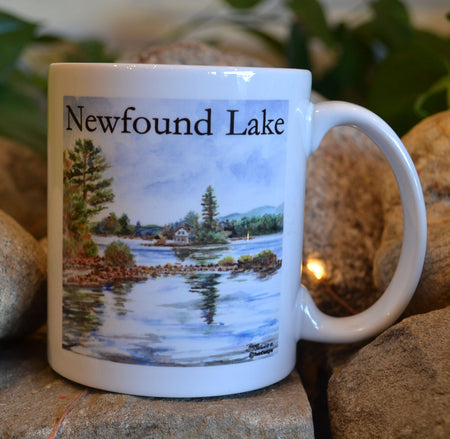 Loon Island Newfound Lake Mug