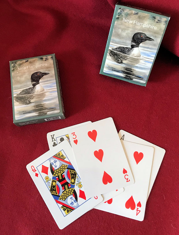 New Hampshire Loon Playing Cards