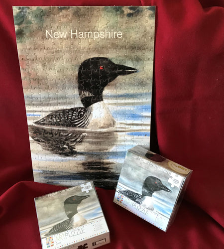 New Hampshire Loon Puzzle