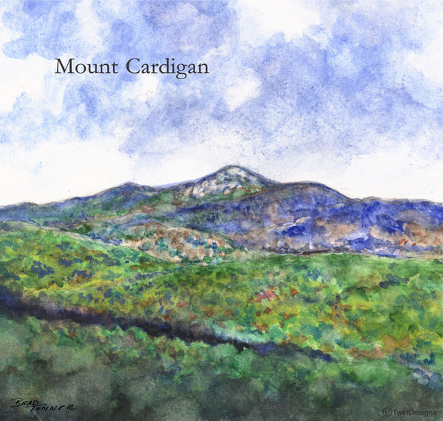 """Mount Cardigan"" Ceramic Tile Trivet"