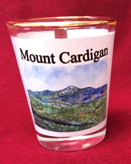Mount Cardigan Shot Glass