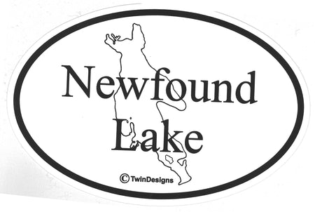 Newfound Lake Removable Bumper Sticker