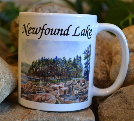 Belle Island Newfound Lake Mug