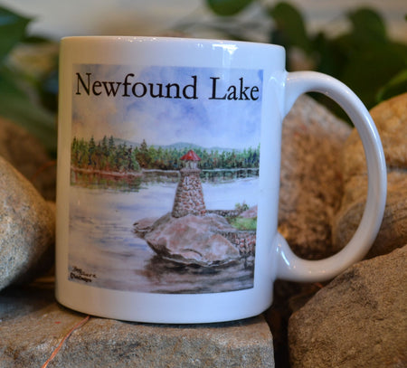 Newfound Lake Lighthouse Mug