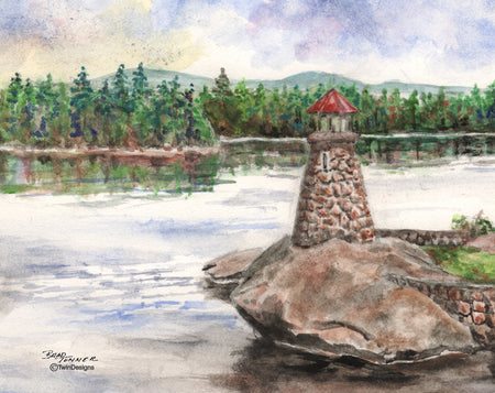 Newfound Lake Lighthouse Note Cards