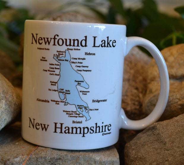 Map of Newfound Lake Mug