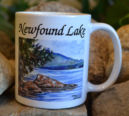 Scene of Newfound Lake Mug