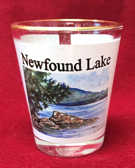 Newfound Lake Shot Glass