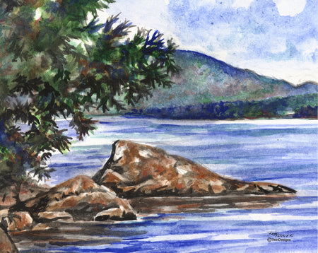 Newfound Lake Note Cards