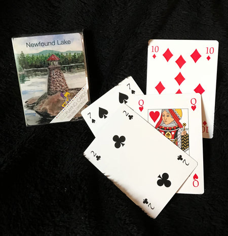 Newfound Lake Lighthouse Playing Cards