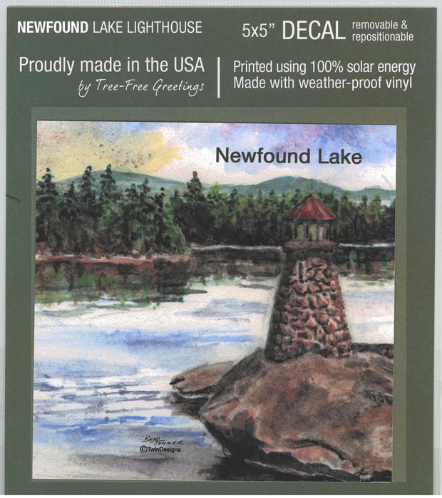Newfound Lake Lighthouse Decal