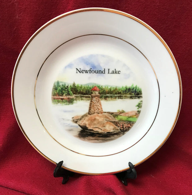 Newfound Lake Lighthouse China Plate