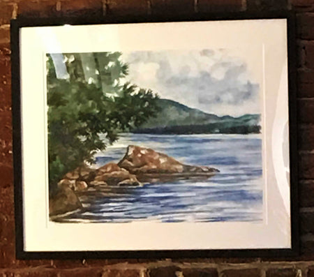 "Limited Edition Print ""Newfound Lake"" by Brad Tonner"
