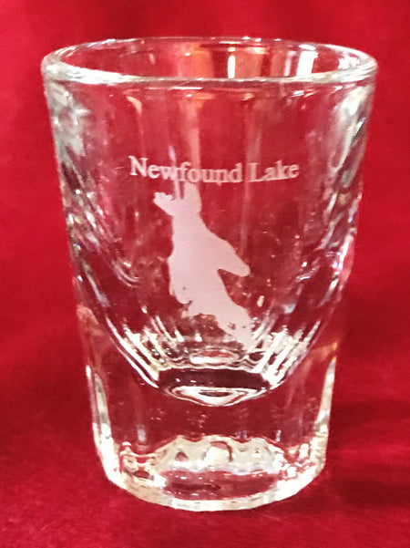 Newfound Lake Crystal Shot Glass