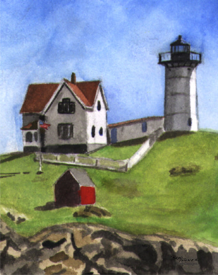 Nubble Lighthouse Note Cards