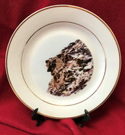 """Old Man in the Mountains"" 8""  China Plate featuring an original photograph by Jim Tonner"
