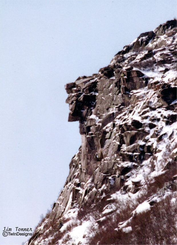 """Old Man in the Mountains"" Note Cards Original Photograph by Jim Tonner"
