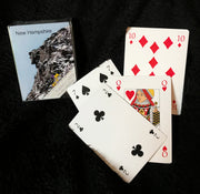 Old Man in the Mountains Playing Cards