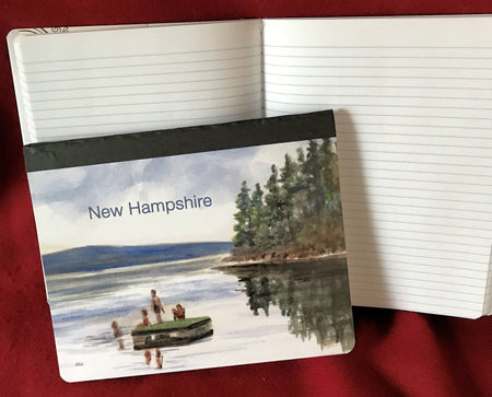 New Hampshire Summer Raft Composition Book