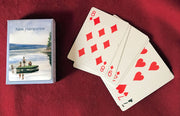 New Hampshire Summer Raft Playing Cards