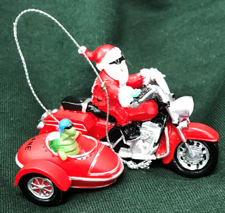 Side Car Diane the Turtle Ornament