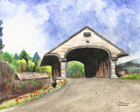 Smith River Covered Bridge Note Cards