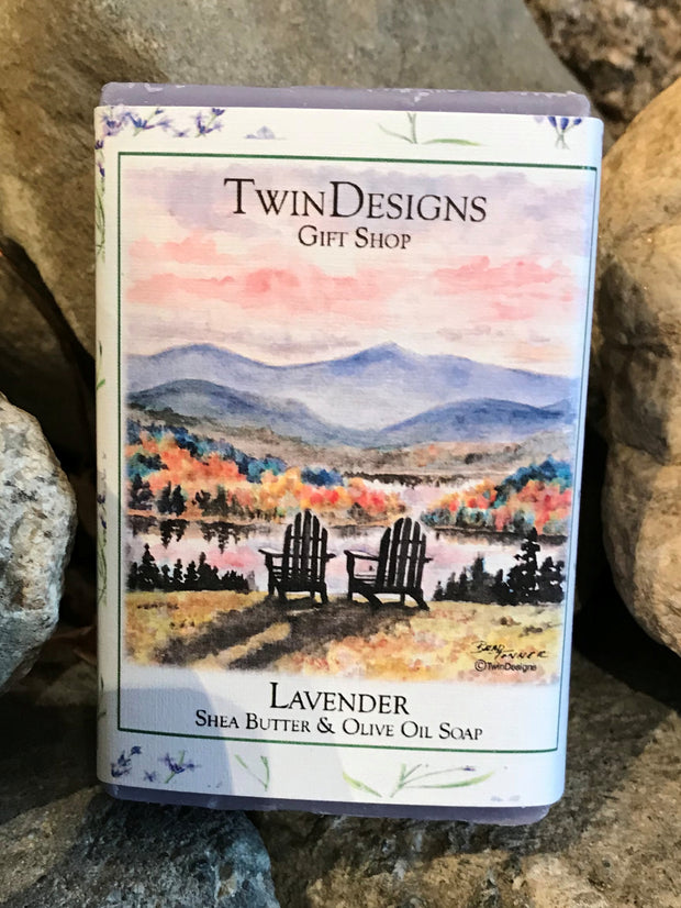 Soap Featuring a Watercolor by Brad Tonner