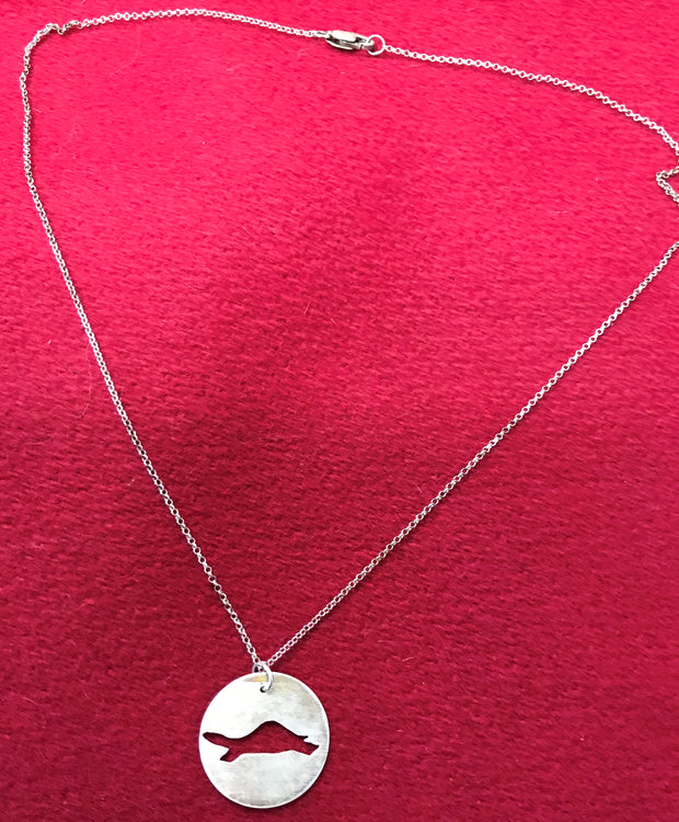 Diane the Turtle Sterling Silver Necklace
