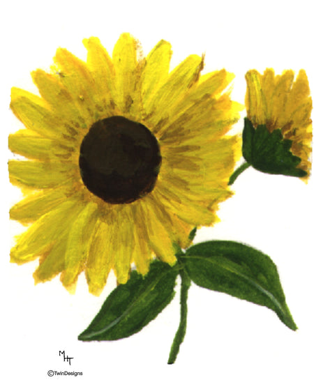 Sunflower Note Cards