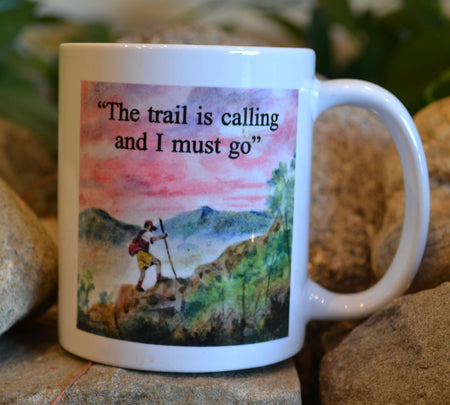 The Trail Is Calling Mug