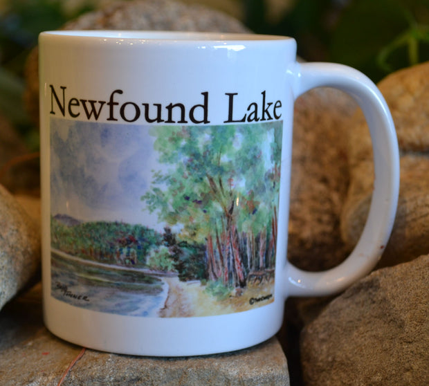 Wellington Beach on Newfound Lake Mug