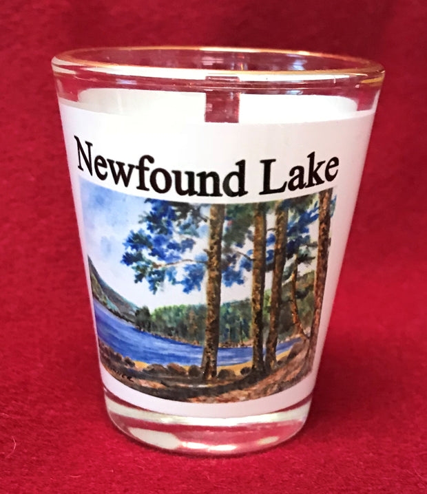 Wellington Beach Newfound Lake Shot Glass