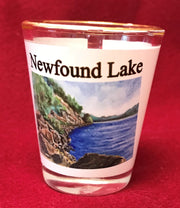 West Shore Newfound Lake Shot Glass