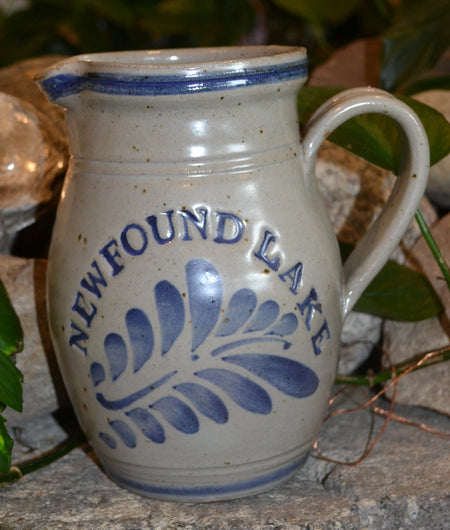Newfound Lake Westerwald Pottery 1 Quart Pitcher