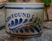 Newfound Lake Westerwald Pottery 1 Quart Salt Jar