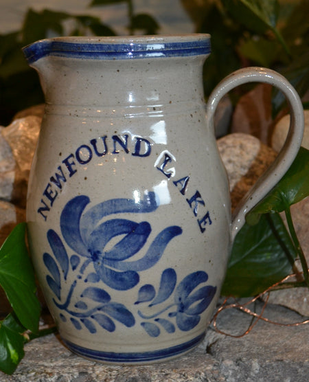 Newfound Lake Westerwald Pottery 2 Quart Pitcher