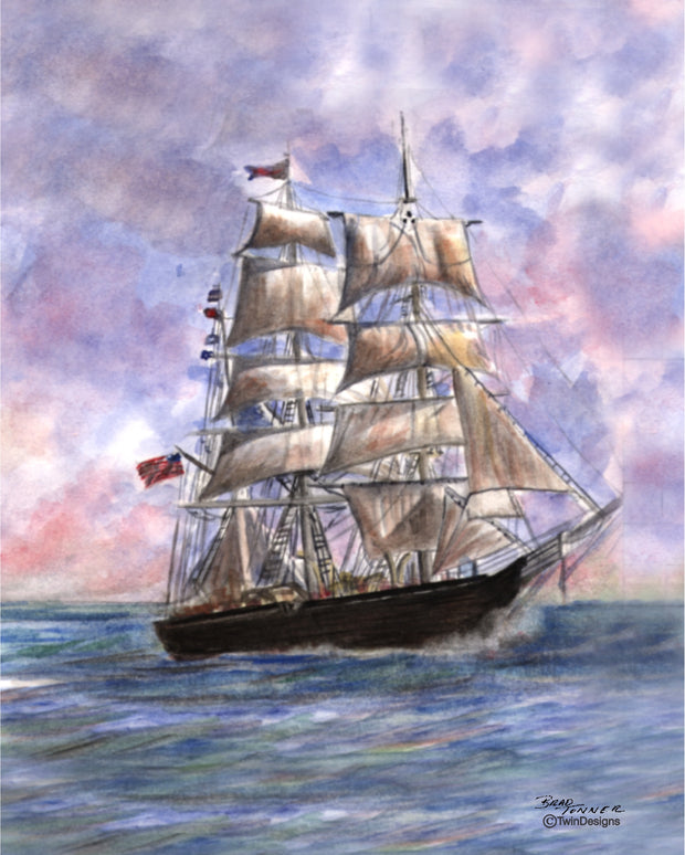 High Seas Note Cards