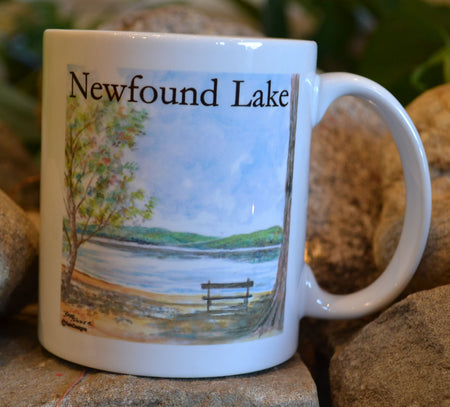 Newfound Lake Bench Mug