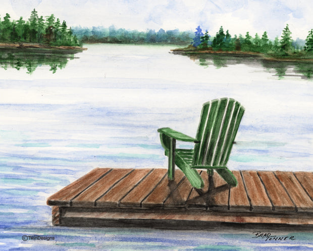Peaceful Lake Note Cards