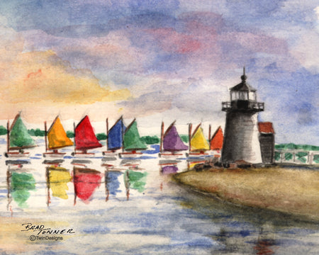 Summer Sail Note Cards