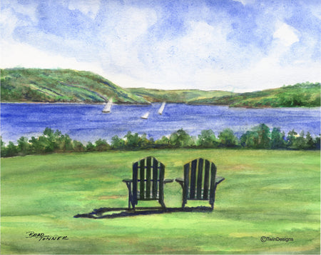 Adirondack Afternoon Note Cards